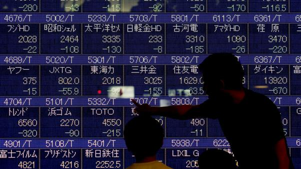 Asia starts new month up on strong Wall Street after brutal October