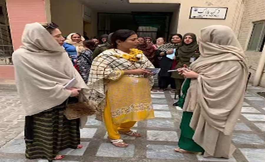 First Lady spends time with mentally challenged people at Fountain House