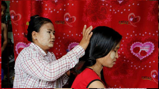 """""""Shines with the colour of pearls"""": Myanmar's trade in human hair booms"""