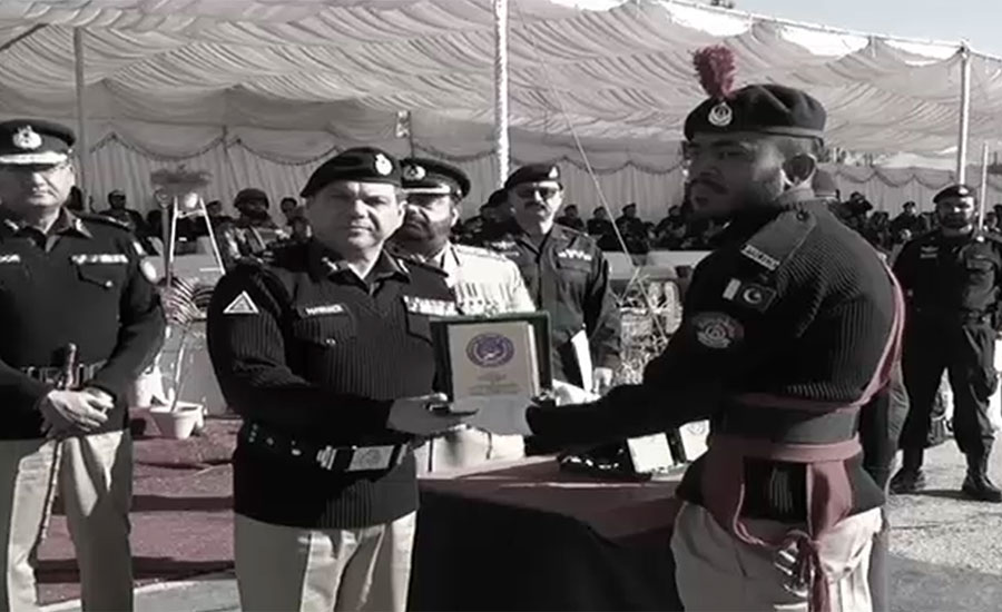 88th passing-out parade of police held in Quetta
