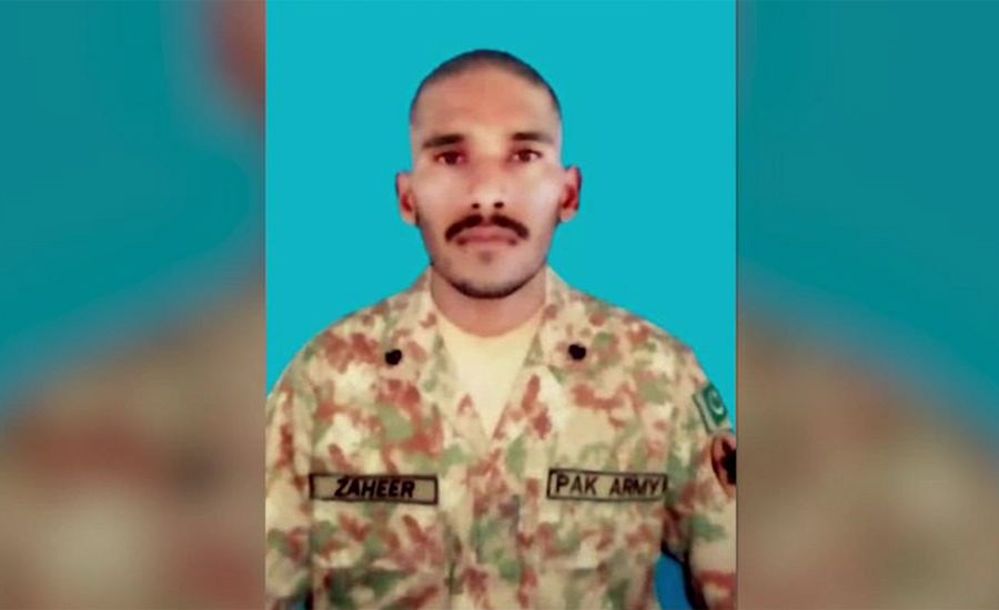 Soldier martyred in Indian unprovoked firing in Thub sector