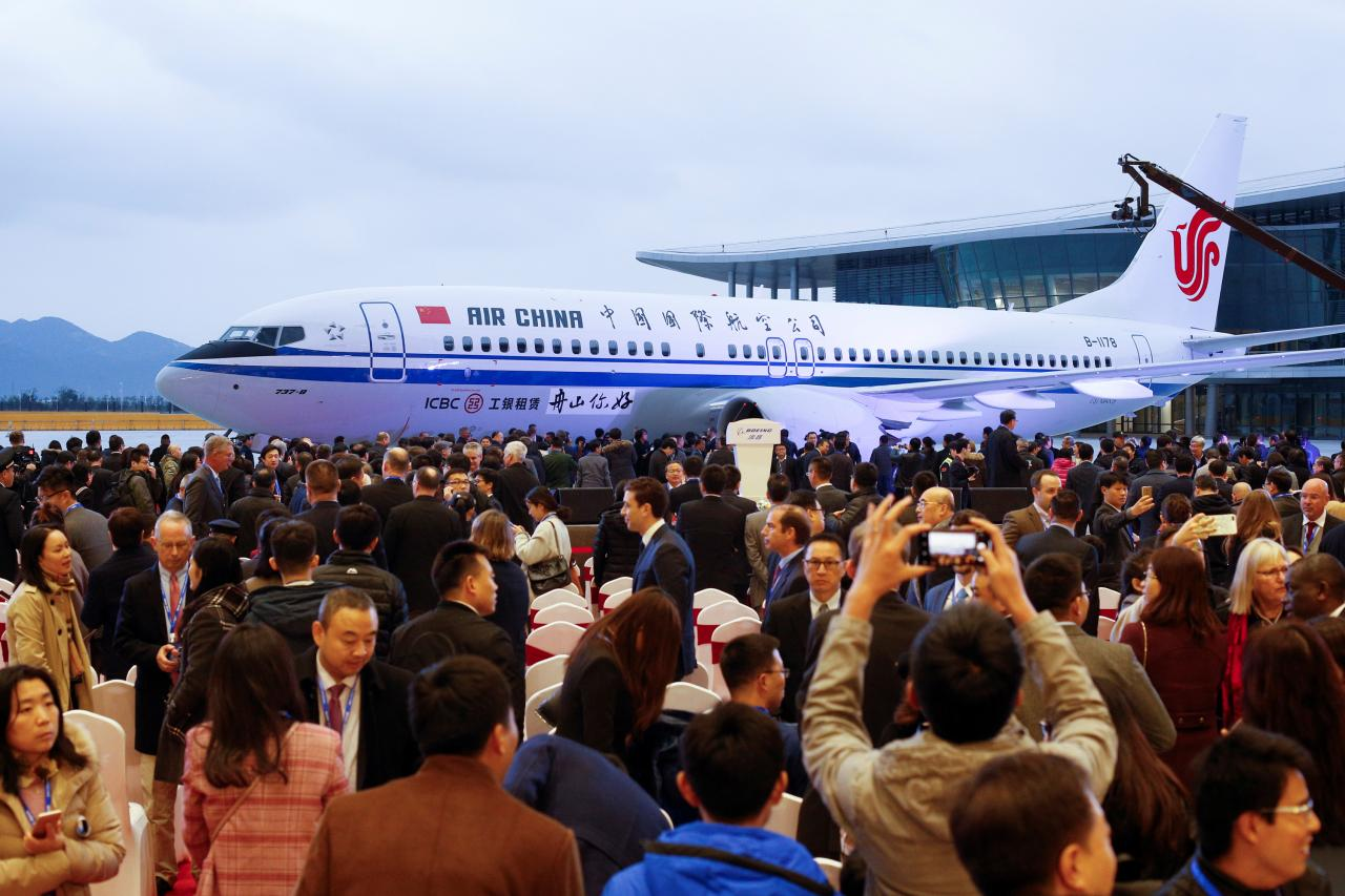 Boeing opens first 737 plant in China amid US-Sino trade war