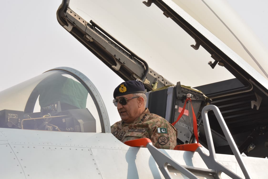 COAS witnesses ongoing Pak-China air exercise