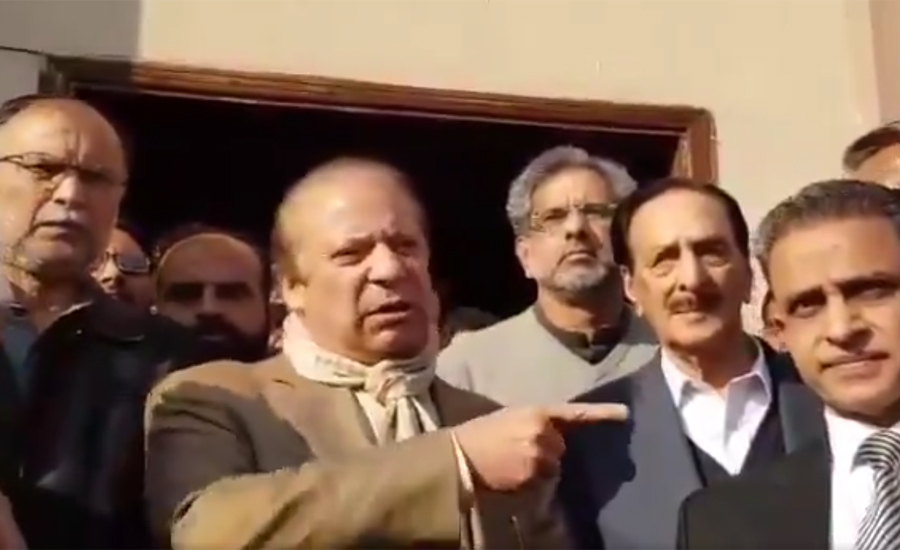 Neither got kickback nor touched corruption, says Nawaz Sharif