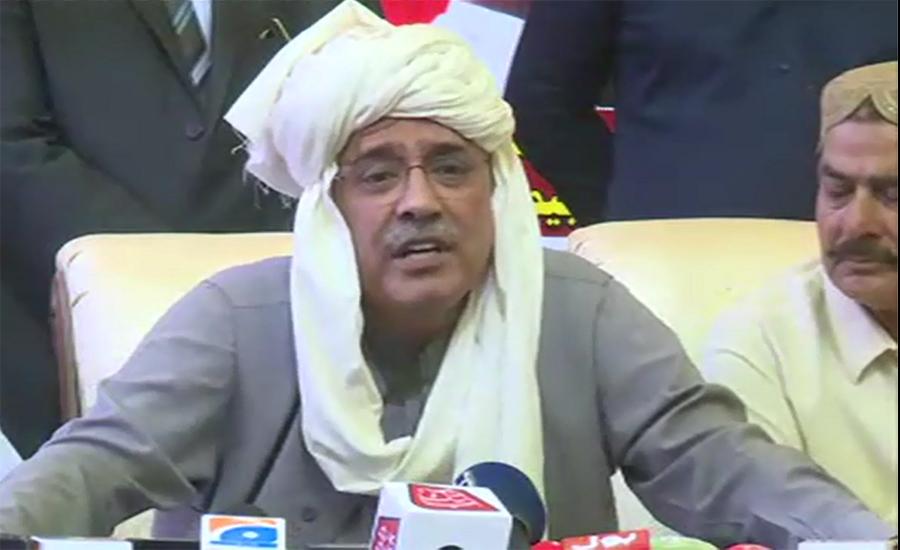 Asif Zardari says non-serious PM has no political thought