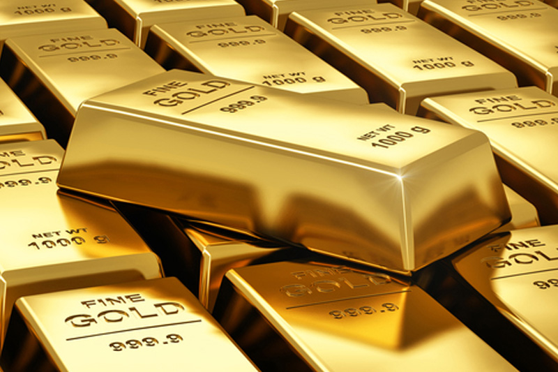 PRECIOUS-Gold down on profit-taking but on track for weekly rise