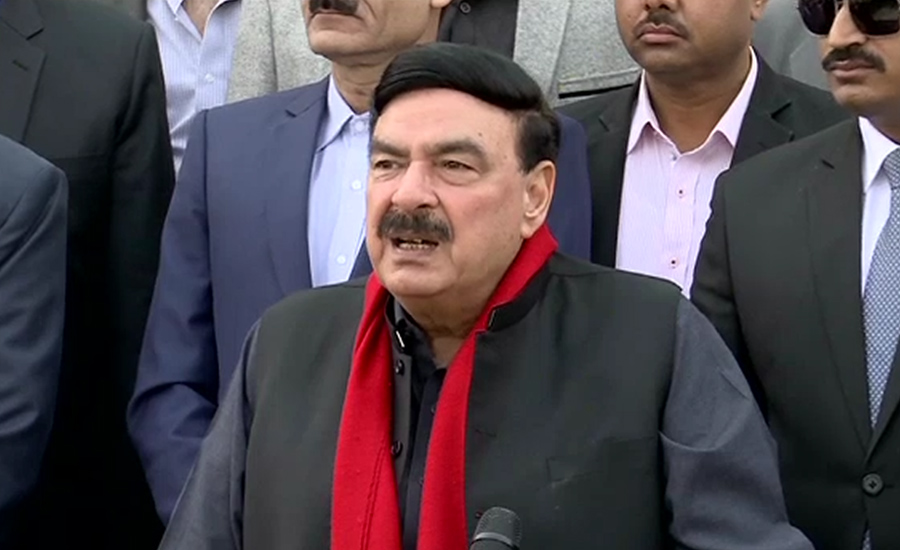 Sheikh Rasheed predicts action against more thieves before March 30