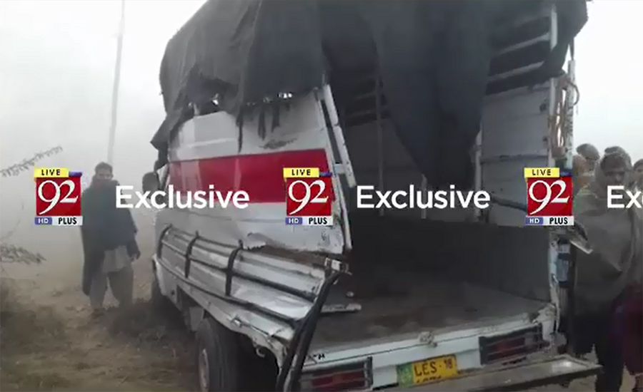 12 students injured as train collides with school van in Narowal