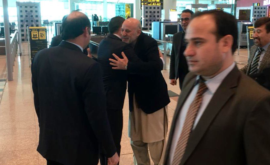 Afghan president's special envoy Daudzai reaches Islamabad on four-day visit