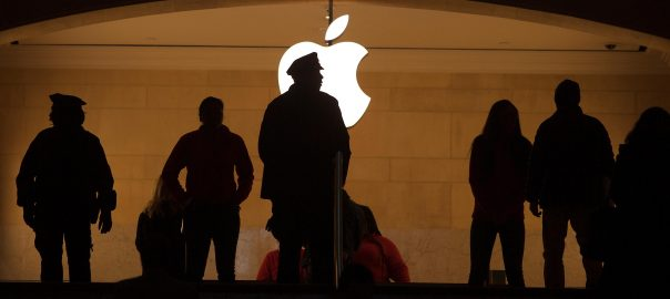 Apple I phone CEO Cook China Tentions