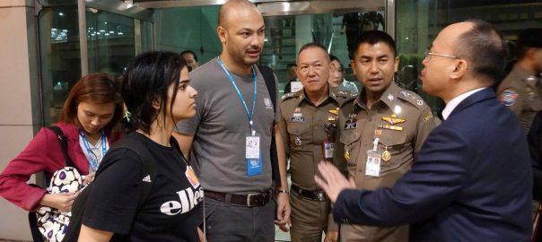 Australia Saudi women Bankok Saudi teen asylum migrant Qunans UN High Commissioner for Refugees UNHCR Ms Rahaf Mohammed al-Qunun