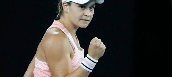 Barty Sakkari Tennis