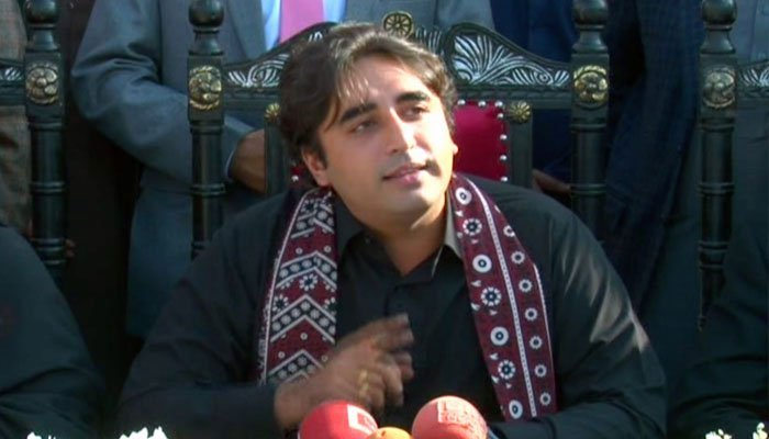 Bilawal asks PM to respond to his speech in Parliament before him