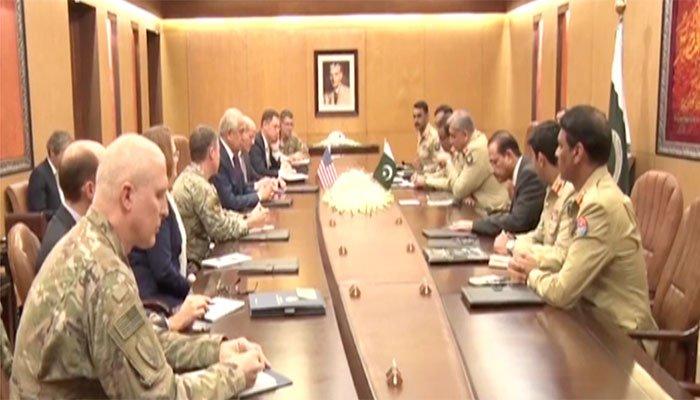 COAS, US envoy Khalilzad discuss Afghan peace process