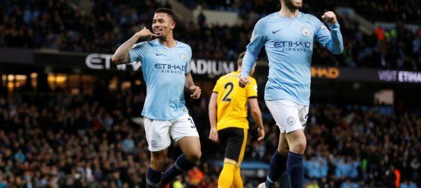 Gabriel Jesus, Manchester City, Wolverhampton Wanderers, Premier League
