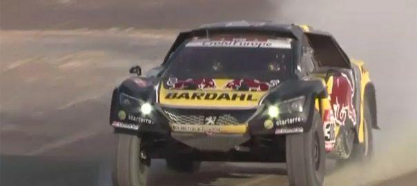 Nasser Al-Attiyah, Dakar Rally, Carlos Sainz, Peruvian desert