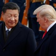 Davos two absentees US CHina Donald Trump President Xi