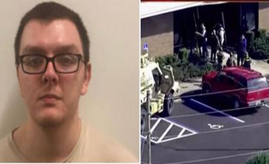 Gunman surrenders after killing five in central Florida bank