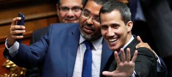 Guaido Venezuela travel ban probe asset freeze US