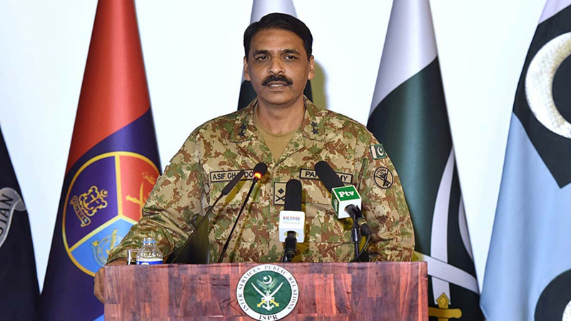 Pakistan used JF-17 Thunder to down Indian aircraft, says DG ISPR