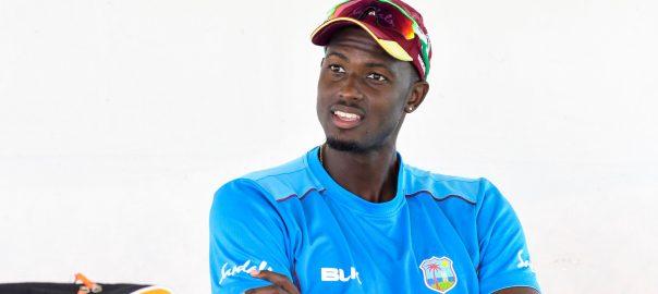 Holder West Indies ICC Cricket Antigua Test