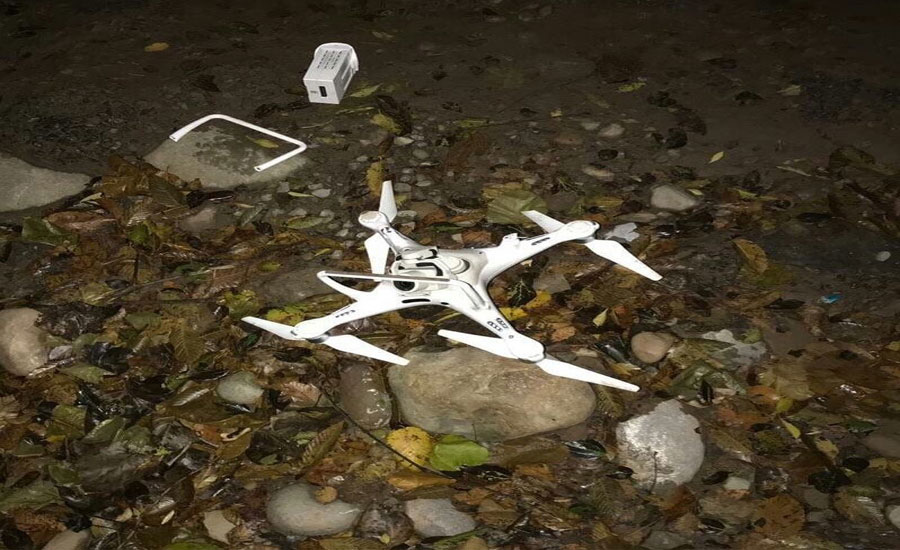 Pakistan Army shot down another Indian spy drone within second day
