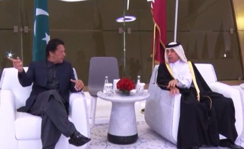 PM Imran Khan arrives in Qatar on two-day official visit