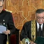 Justice Khosa 26th CJP CJP Justice Asif Saeed Khosa New CJP Oath-taking ceremony