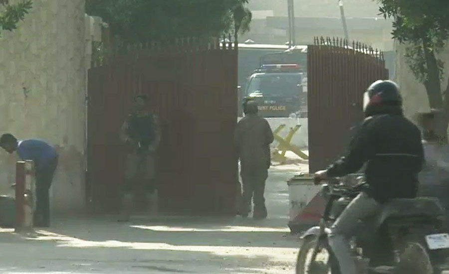 LEAs conduct search operation in Karachi's Malir Jail