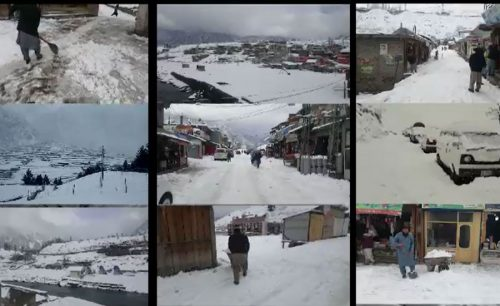 92 News Muree Tourists Snowfall Muree Snowfall Tourists Enjoying Mall Road Muree Tourists Welocome Cold weather