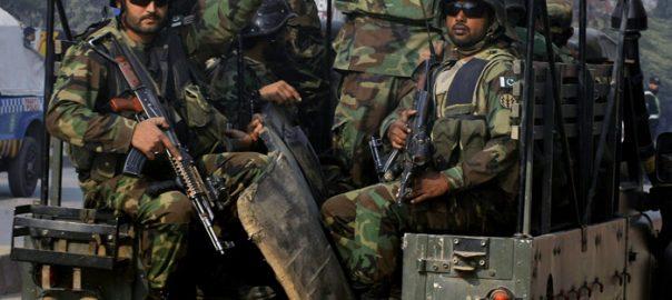 Security forces Army Pakistan Army ISPR Peshawar Terrorist