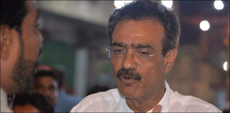 PTI MPA Ramzan Ghanchi wounded in Karachi in firing