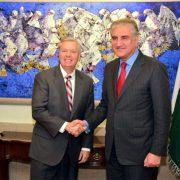 Qureshi FM Qureshi US Senator US Senator Lindsey Graham Afghan Peace US Afghan Taliban