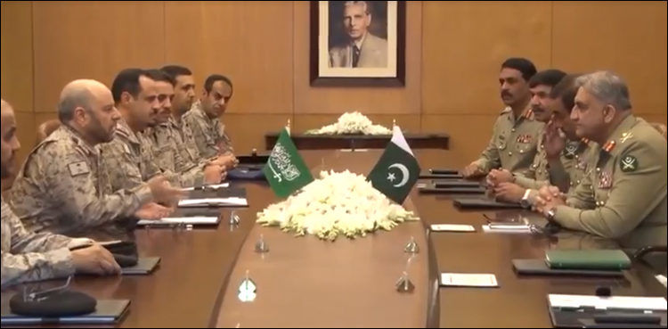 Royal Saudi Army thanks Pakistan Army for training, assistance