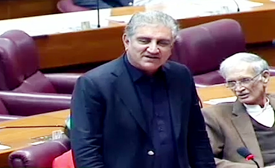 Qureshi says govt put names on ECL in haste