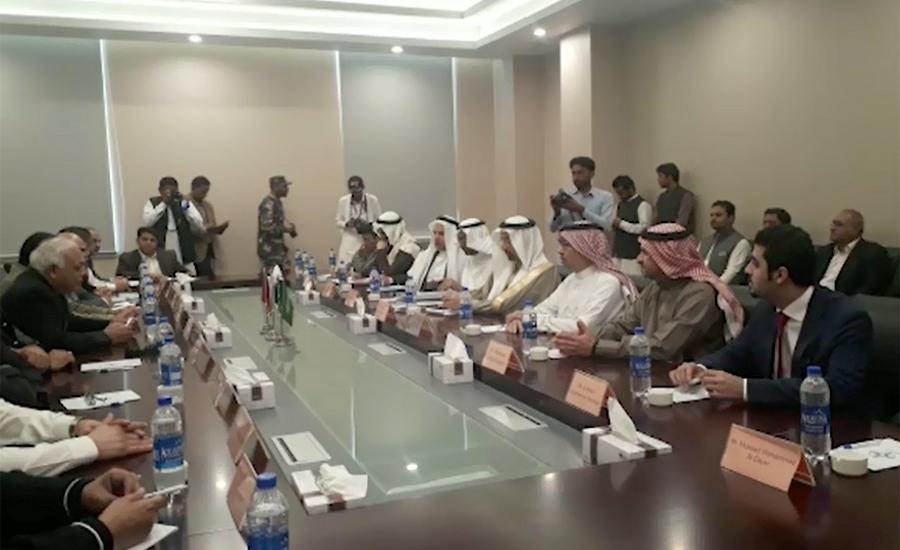 Saudi minister visits Gwadar, says will make biggest investment in Pakistan