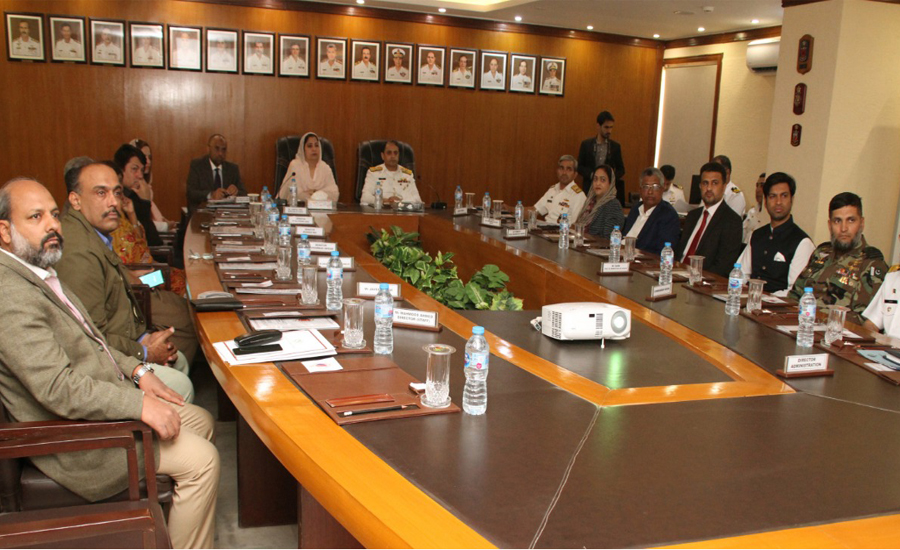 Senate body visits Pakistan Navy Dockyard & Headquarters