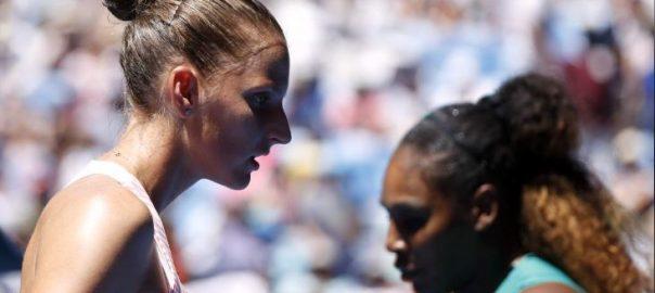 Serena, Pliskova, Australian Open
