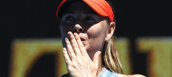 Maria Sharapova, male players, support, gender equality, tennis