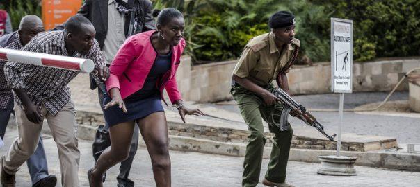 Somali Gunmen 92 news storm Kenyan hotel Somali militants attack