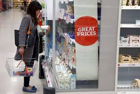 UK shop prices rise at fastest pace in nearly six years
