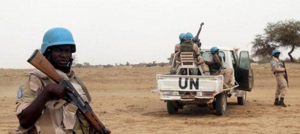 UN UN peacekeepers Northern Mali