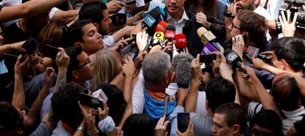 Venezuela's Maduro Guaido new protests pressure