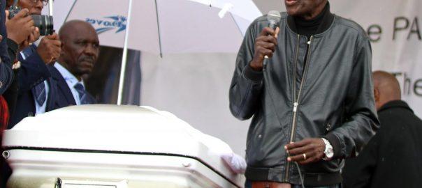 Zimbabwean musician Mtukudz