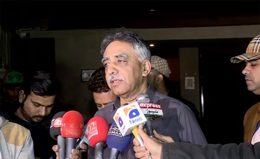 Armed people intercept Sindh former governor Muhammad Zubair