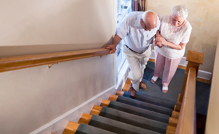 One-floor living helps seniors 'age in place'