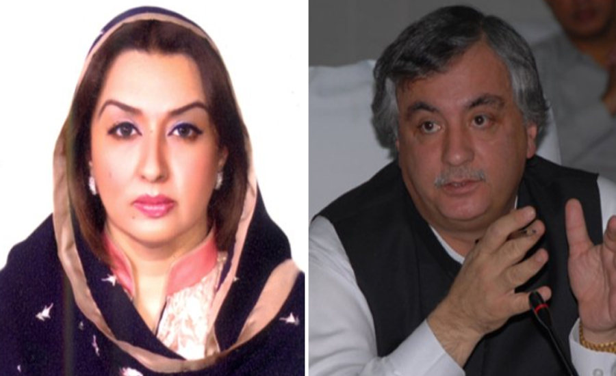 Arbab Alamgir, Asma indicted again in corruption reference