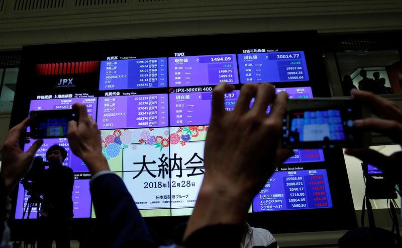 Asia stocks reach five-week high, yuan makes big weekly gains