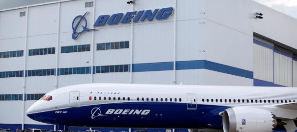 boeing 787 Dreamliner production Dennis Muilenburg