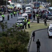 car car bomber Colombia police academy attack